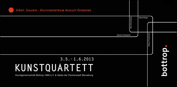 Kunstquartett 2013 - Rita Ehrenber, Gerd Kluge, Danny Pockrandt u. Danilo Pockrandt
