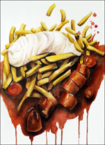 Currywurst von Anna Efthimiadou-Chwolka